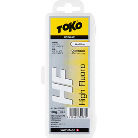 Toko HF Hot Wax 120g, yellow